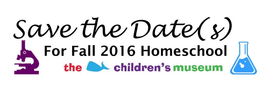 StD Homeschool Fall 2016
