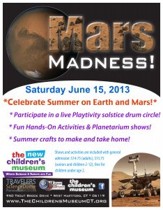 The New Children's Museum Celebrates Summer on Earth and Mars