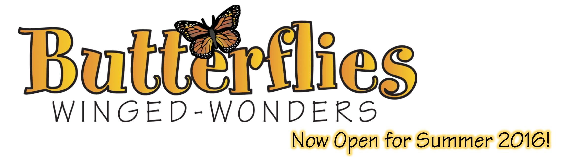 Butterfly House Open Summer 16