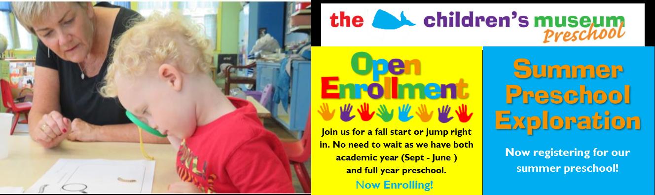 preschool spring web banner