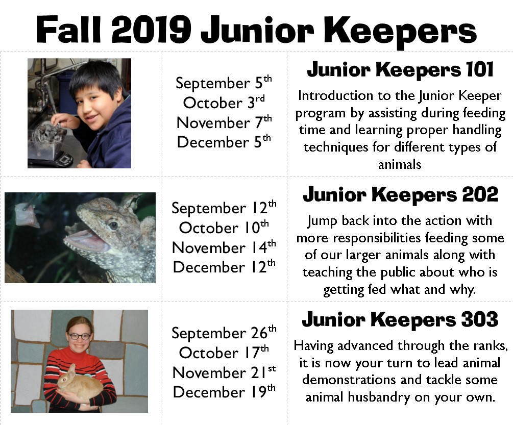 Junior Keepers 101 @ The Wildlife Sanctuary  | West Hartford | Connecticut | United States
