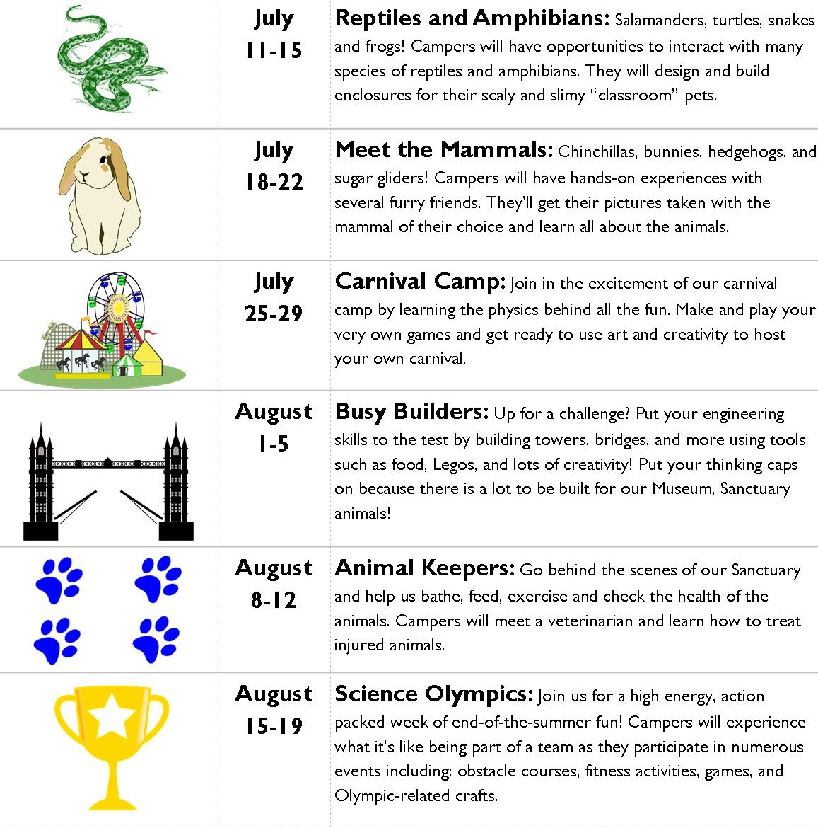 Summer Camp: Reptiles and Amphibians @  |  |