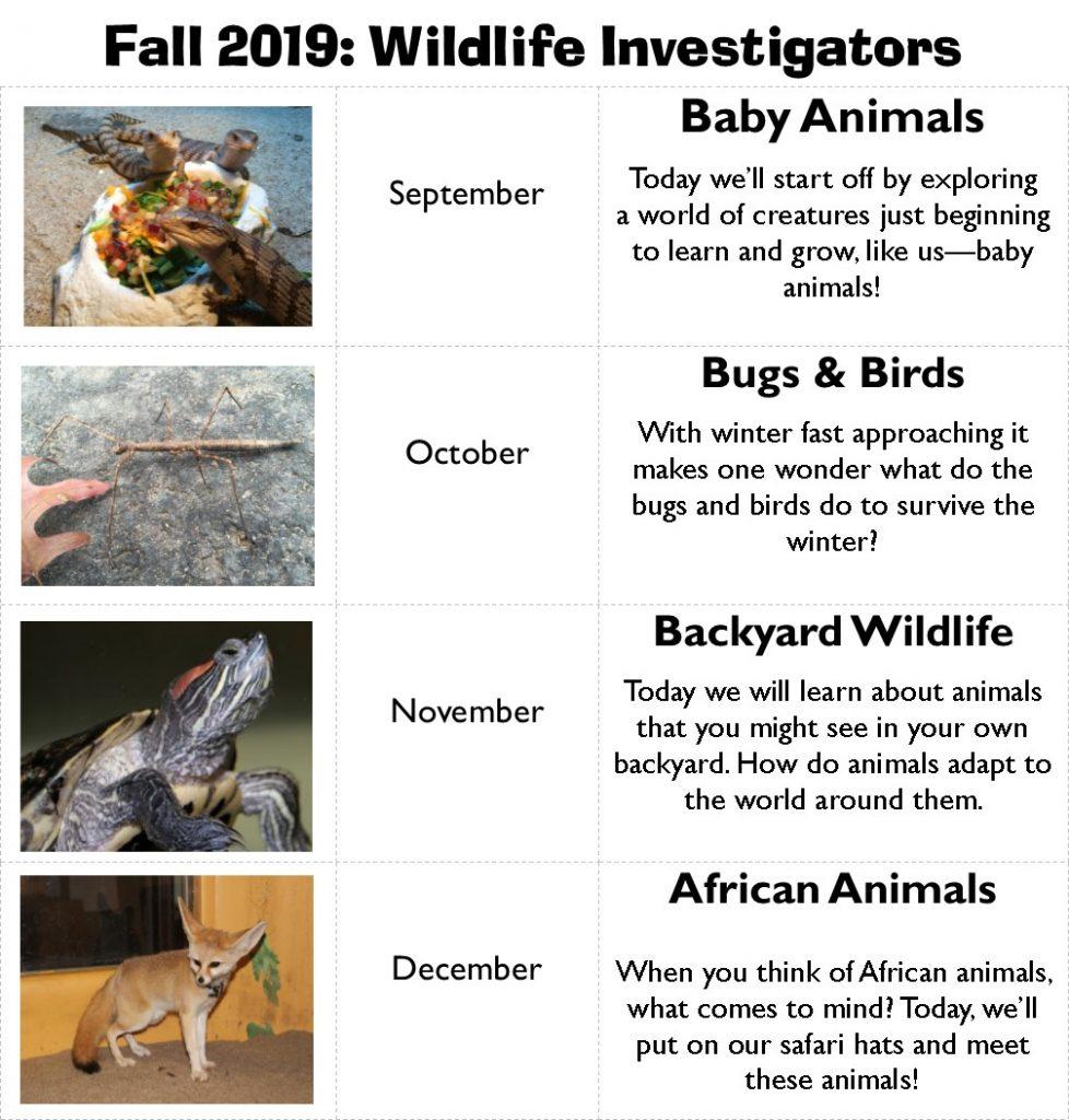 Wildlife Investigators @ The Wildlife Sanctuary  | West Hartford | Connecticut | United States