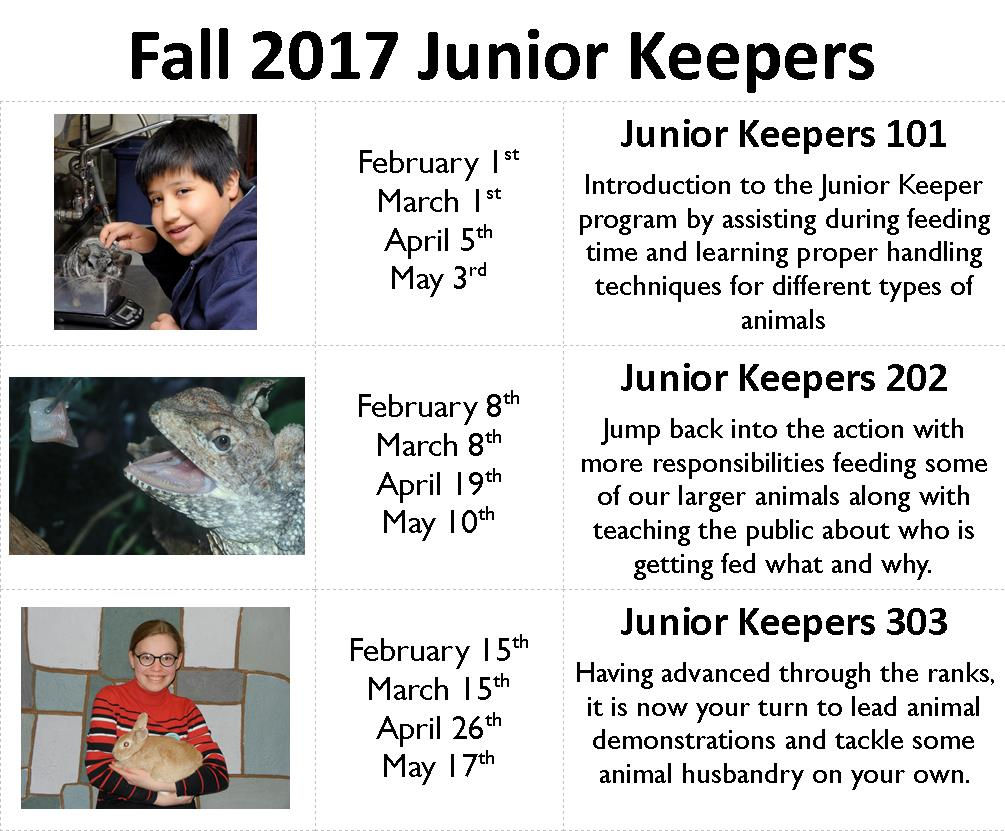 Junior Keepers 101 @ The Children's Museum | West Hartford | Connecticut | United States