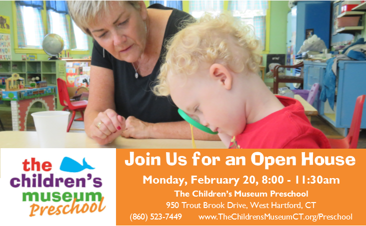 Museum Preschool Open House @ The Children's Museum Preschool | West Hartford | Connecticut | United States